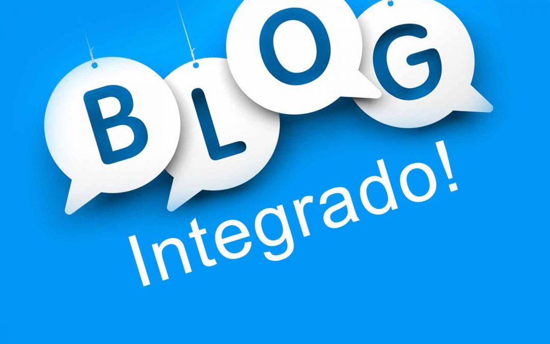 como criar blog na loja integrada