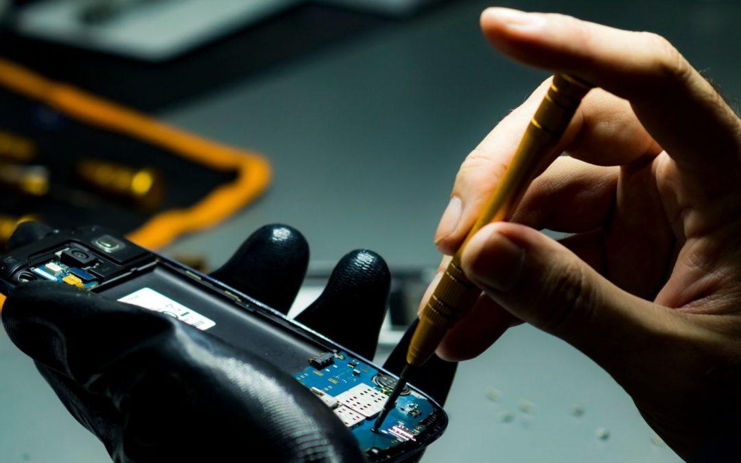Criação de sites para assistência técnica de celular